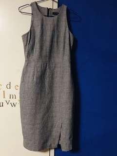 Gray Flannel dress