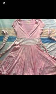 Energie Pink Flowy Dress