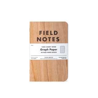 field notes FN23 櫻桃木 筆記本