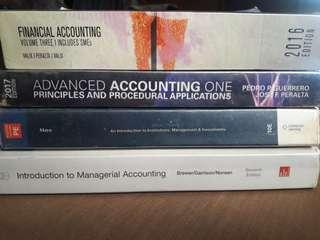 Accounting Textbooks 📚