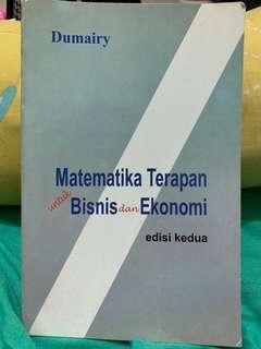 Matematika terapan bisnis ekonomi