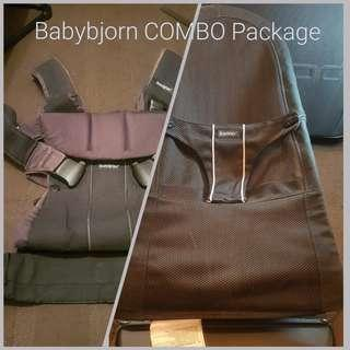 COMBO - Babybjorn Carrier & Bouncer