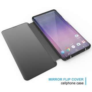 Samsung Note 9 HD Mirror Flip Case
