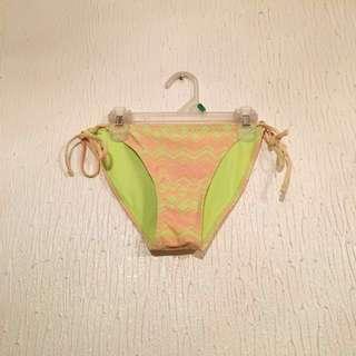 #CNYSALE #19ONLY FOREVER 21 Neon Aztec Bikini Bottom