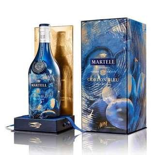 🚚 Martell Cordon Bleu 2019 Limited Edition 1L