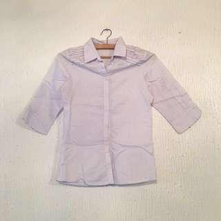 #CNYSALE #20OFF UNBRANDED Long-Sleeved Polo