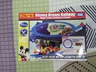 Mickey Mouse Train Takara Tomy