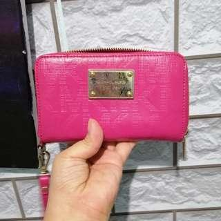 MK pink authentic wallet