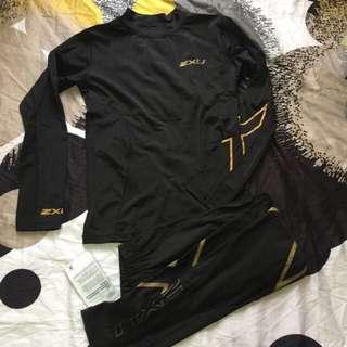 🚚 2Xu rashguard / leggings