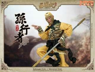 *MISB* Inflames Toys IFT-009 Story of A Journey To The West – Sun Walker Wukong Monkey King 1/6 scale (not hot toys enterbay) 西游记孙行者