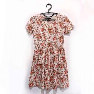 [Preloved] XXI Pink Rose Dress