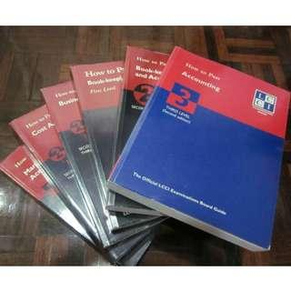 How-To-Pass LCCI Business Accounting (Info)