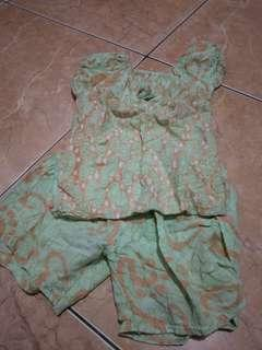 Daster / baju batik / baju anak
