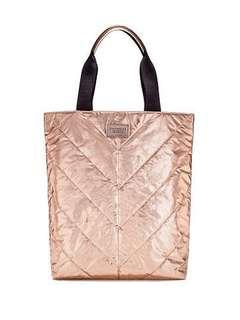 🚚 Victoria's Secret NEW Limited Edition Rose Gold Tote Bag