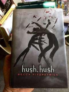 Hush, hush novel by Becca Fitzpatrick