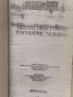 Mental Health and Psychiatric Nursing(NursePrep)