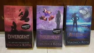 Divergent Trilogy: Divergent, Insurgent, Allegiant #MFEB20