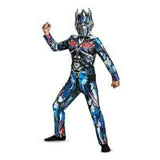 Transformers Optimus Prime Autobots Child Halloween Costume