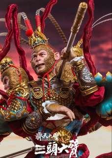 *MISB* Inflames Toys Story of A Journey To The West –Monkey King Three Heads & Six Arms 1/6 scale (not hot toys enterbay) 齐天大圣三头六臂