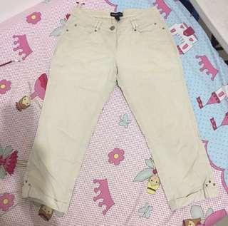 #JAN25 MANGO Broken White Celana Puntung pants #onlinesale