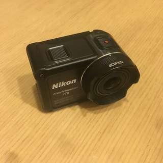 🚚 Nikon Keymission 170運動攝影機