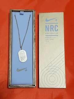 BIG SALE🎁(包郵) NIKE Necklace NRC Women's 10K HONG KONG 2016