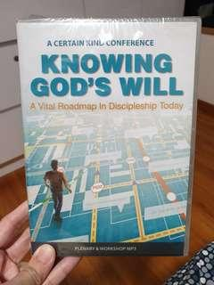 🚚 CEFC Knowing God's Will - Plenary and Workshop MP3