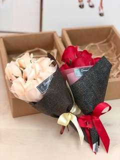 [情人節禮物]7朵番梘花香皂玫瑰花