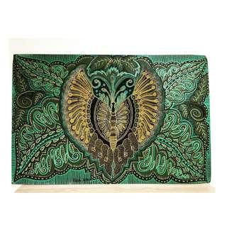 Batik Motif Painting