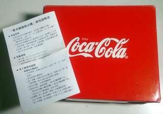 🚚 Cocacola 可口可樂 積木鬧鐘收音機