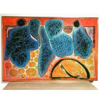 Mixed Media Art : Abstract Painting