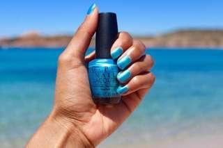 OPI - Teal the Cows Come Home ; Nail Lacquer