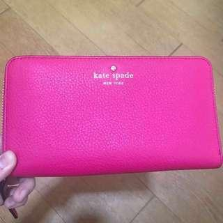 Kate Spade cobble hill wallet (not chanel tory burch loewe celine lv louie vuitton gucci bottega chloe moschino ferragamo fendi)