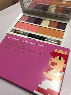 🚚 Shu uemura super Mario peach eye and cheek palette eyeshadow