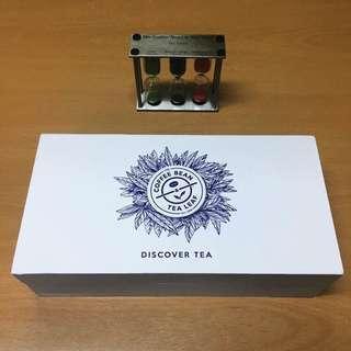 Coffee Bean & Tea Leaf Discover Tea Box and Timer Set