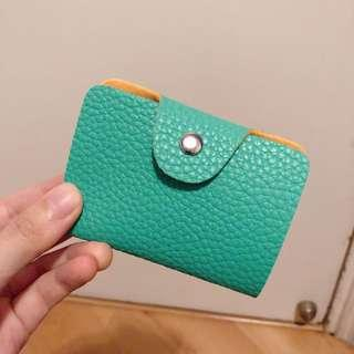NEW 湖水綠 turquoise card holder
