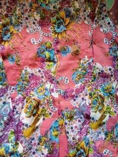 #CNY2019 gamis panjang bunga