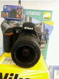 Kamera Nikon D5600 VR KIT (Promo Gratis 1x Angsuran)