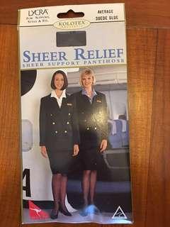 澳洲航空空姐support 襪