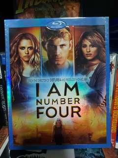 🚚 I Am Number 4 Blu Ray.