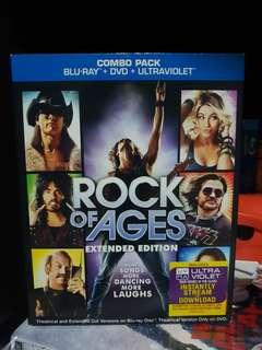 🚚 Rock Of Ages Blu Ray.