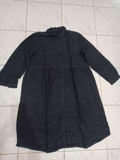 Baju Tunik Abu2