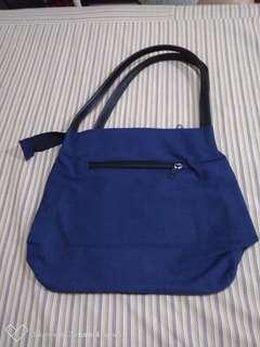 Simple Blue Bag