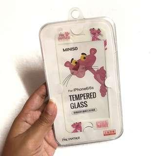 Iphone 6 Tempered Glass Pink Panther