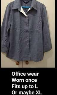 Office wear gray used once