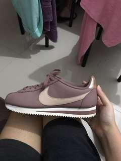 "Nike Cortez ""Smokey Muave"" Rose Gold Pink Plum Authentic"
