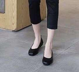 🚚 Interview black shoes woman office