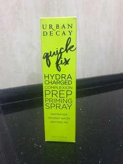 Authentic Urban Decay Quick Fix Hydra-Charged Complexion Prep Priming Spray