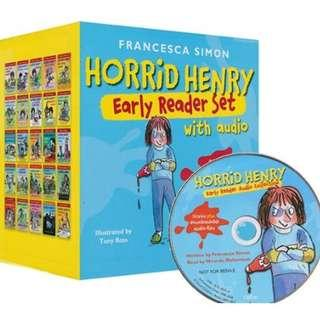 Horrid Henry Early Reader [25 books with audio CD]