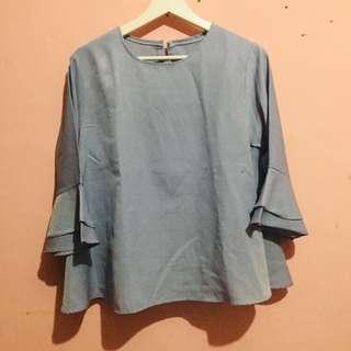 blouse panjang wanita